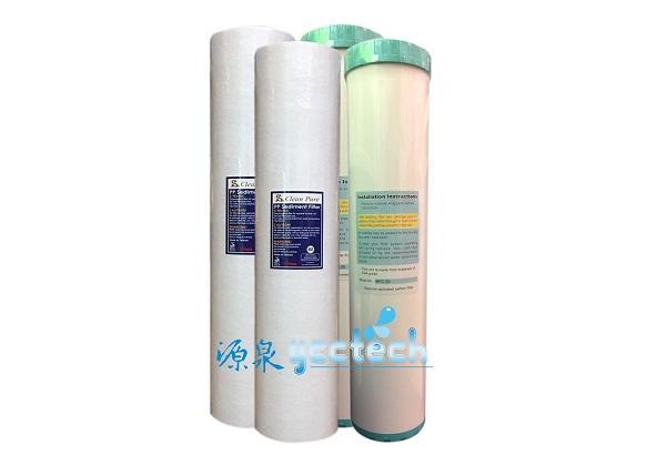 台製20英吋大胖全屋戶式水塔淨化設備過濾PP纖維濾心+UDF活性碳濾心●一次購2組優惠2000元● 1