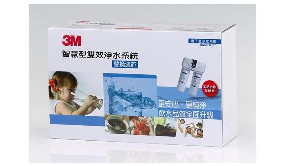 3M DWS6000-ST智慧型雙效淨水系統-替換濾芯組合(2入組)【3M原廠最新品公司貨】 1