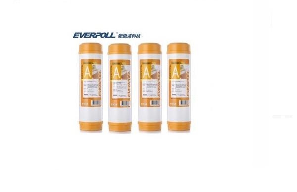 EVB-M100A/EVBM100A台灣愛惠浦EVERPOLL樹脂濾心【10英吋標準規格】【4支優惠價1000元】 1